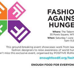 Fashion Against Hunger