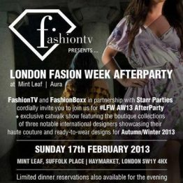 LFW AfterParty