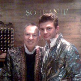 Fashion Stylist with Russian Fashion Designer Slava Zaitsev
