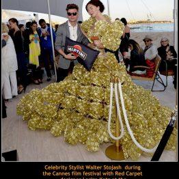 Walter Stojash with Larisa Katz Art Couture
