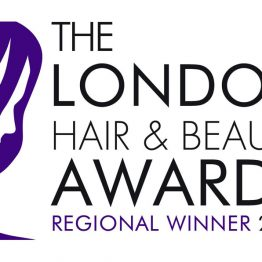 hair and beauty awards london regional winner 2019